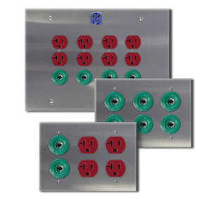 Power Ground Modules and Receptacles
