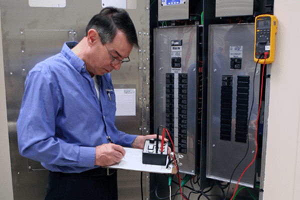Isolated Power Panel Testing